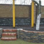 Забор и декорирование из кирпича Фагот