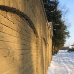 Финский кирпич в заборе