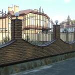 Декоративный забор Фагот