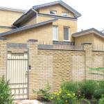 Кирпичный забор дом Фагот