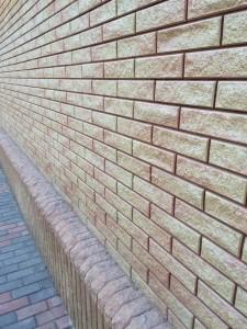 Кирпичная стена из Фагота
